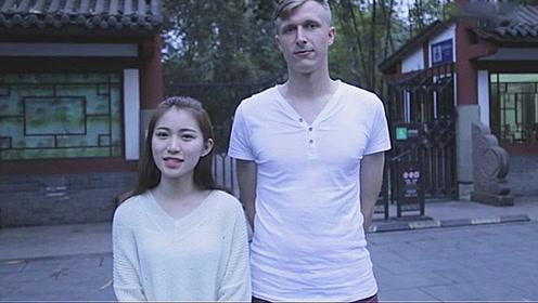 好听!外国帅哥搭配中国校花翻唱《凉凉》