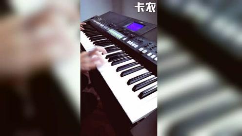 《卡农》电子键盘乐器弹奏的好帅:琴哪里买的,我包了!