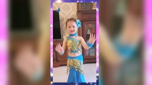 小朋友也来跳印度舞了,真可爱!