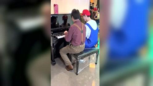 《青春环游记2》范丞丞和郎朗又弹钢琴啦!太好听了