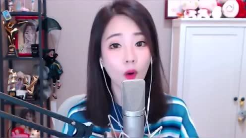 冯提莫《身骑白马》清爽干净,嗓音独特,韩国女星风!