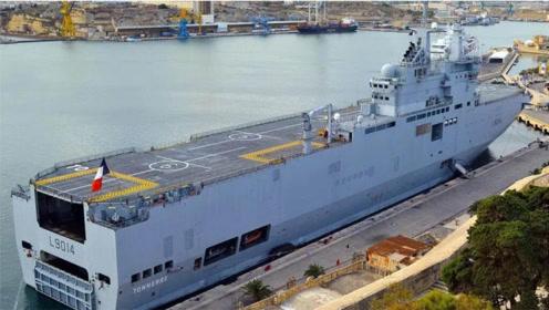 黎巴嫩大爆炸后,法国派来了两栖攻击舰,运用