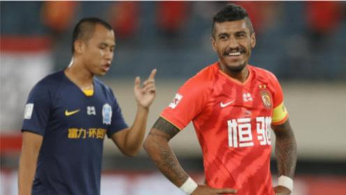 中超第9轮:广州恒大2-1广州富力,5分优势继续领跑.费南多两进球被吹