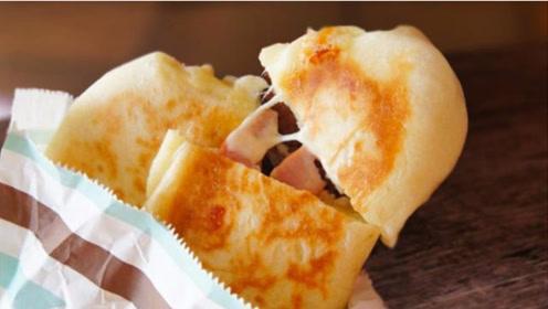 面包这样做太好吃了!一个平底锅就能做出全家都喜欢吃的美食
