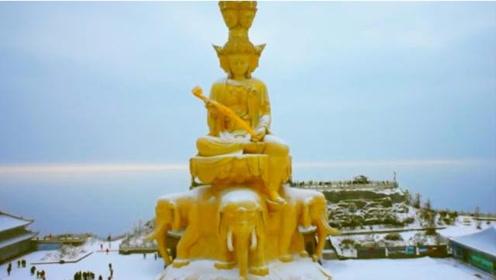中国人满为患的景点,去过峨眉山旅游时,见到这类人一定要远离