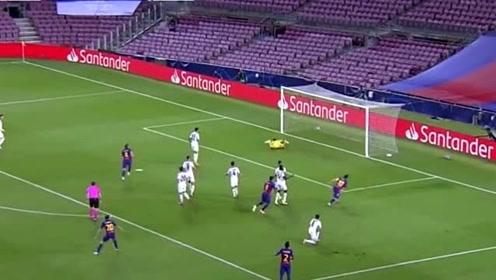 欧冠赛事梅西一条龙的进球,这才是国际巨星的范儿,这粒进球你打几分?
