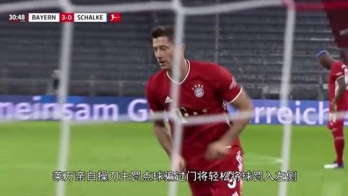 德甲揭幕战-拜仁8-0血洗沙尔克 萨内首秀1射2传格纳布里戴帽