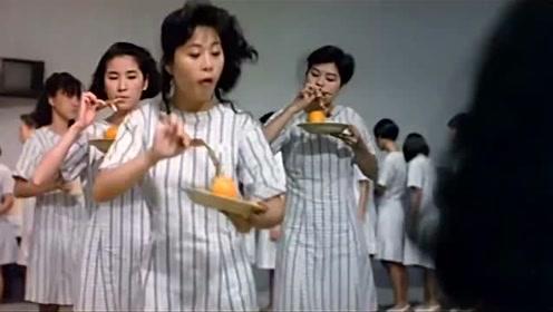 女子监狱伙食这么好,早餐就有鸡翅膀吃,生活美滋滋啊
