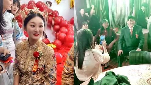 大衣哥儿子结婚视频,全场喜气洋洋,歌手袁庆到场参加
