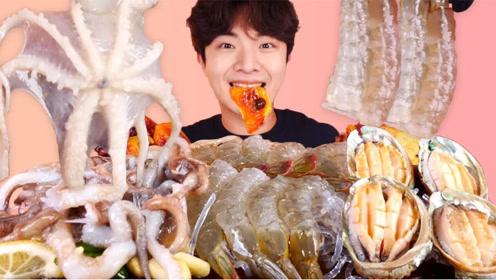 美食二倍速:章鱼+鲜虾+鲍鱼
