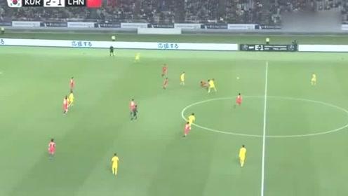东亚杯苏东:韦世豪的进球是欧洲水平,这个停球是中甲水平