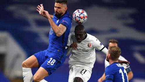 欧冠-维尔纳2点球亚布拉罕破门 切尔西3-0灭雷恩