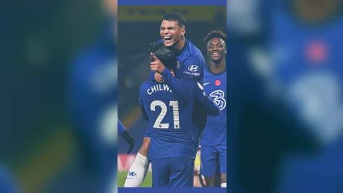 切尔西4-1轻取英超副班长,齐耶赫助攻双响,弟媳收获英超首球。