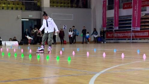 2020全国轮滑青少年体育俱乐部联赛(重庆站) 少年女子甲组冠军魏千喻