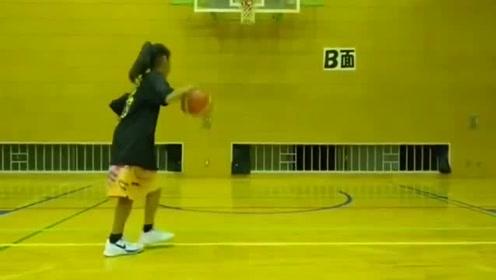 日本的篮球确实强这位日本小美女的运球怎么样