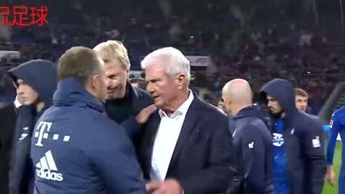 """德甲拜仁六球领先霍芬海姆后踢起""""默契球"""",这种蹊跷的比赛是为什么?"""
