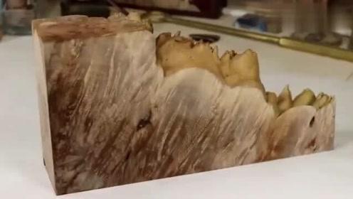 这种半透明木头怎么做的,看完这个视频解开我的疑惑,你看懂了吗?