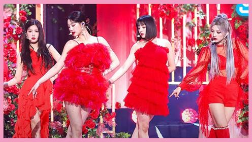 (G)I-DLE新歌《HWAA火花》音乐中心打歌舞台TV版