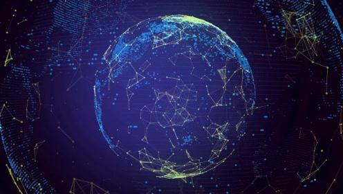 科技地球视频背景素材