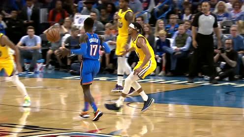 10日NBA最佳扣篮 迪亚洛上演飞身暴力隔扣