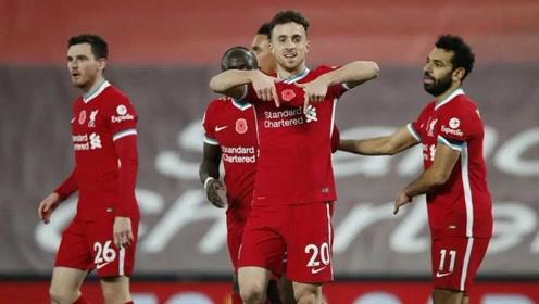 若塔萨拉赫领衔 利物浦11月最佳进球候选