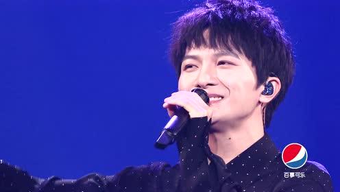 """All Star Night: Zhou Shen sings """"Huang Cheng Du"""" and """"Ni Shi Wo De Shui"""""""