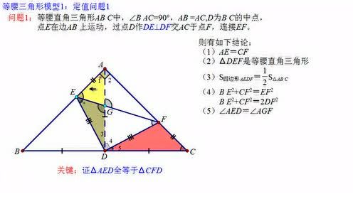 The eighth grade mathematics book chapter 13 axisymmetric 13.3 isosceles triangle