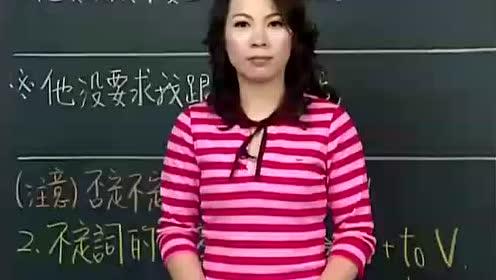 谢孟媛初级文法视频教程-英语提高_第16集
