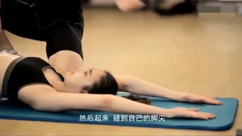 男教练真是幸福,教出身材这么好的瑜伽美女