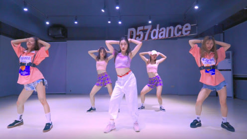 D57舞蹈工作室,Dada编舞《So crazy》舞蹈视频