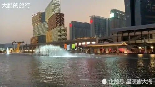 世界第一大赌城澳门航拍,澳门是全球最发达、最富裕地区之一
