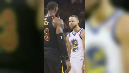 囧囧NBA:詹姆斯和库里发生争吵 老詹直接全方位暴揍小学生