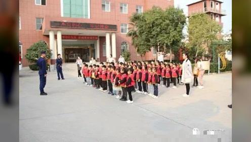 """驻马店消防:""""119消防宣传月""""实验幼儿园参观消防队站"""