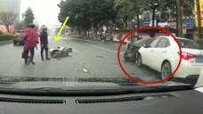 """逃跑的""""凶手"""",这车祸谁来负责!要不是视频谁会相信这一切"""