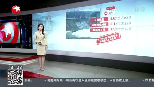 長江2020年第2號洪水平穩通過三峽大壩