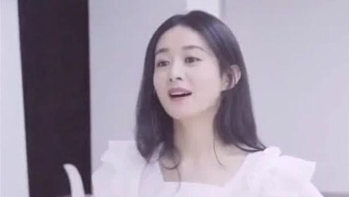 赵丽颖练习室版《说爱你》,少女感觉十足