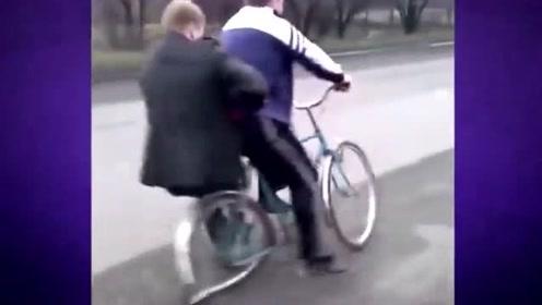 爆笑视频合集来袭!你别上来别上来你上来就完了,轮胎:我撑不住啊!