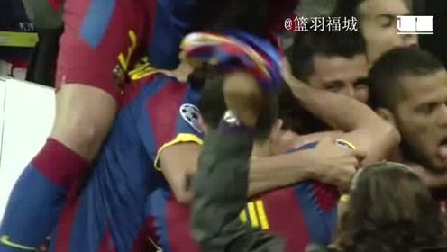 足球经典比赛回顾:梅超风!9年前的梅西欧冠决赛让人热血沸腾