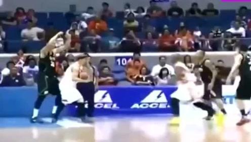 菲律宾跳水搞笑还不够,看了他们的篮球联赛才发现CBA还是很不错的