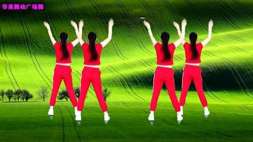 背面健身操教学《站在草原望北京》每天跟着音乐跳20分钟