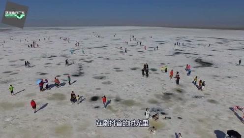 抖音上超火的旅游地,神圣如天堂!被称作中国的天空之镜