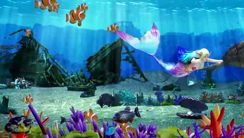 海底世界-大屏幕的动画3D效果短视频制作