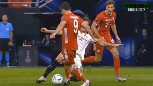「河豚直播网」足球直播回看:欧超杯拜仁2-1塞维利亚进球集锦