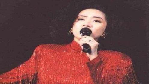 梅艳芳因为翻唱了这首歌,没想到自己的一生也随之改变!