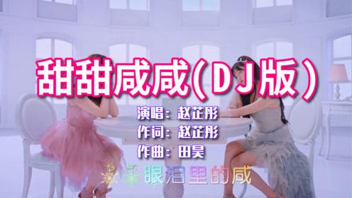 赵芷彤《甜甜咸咸》DJ版,满是恋爱的甜蜜感,太好听了