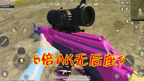 和平精英:用6倍AKM扫射竟然没后坐力?玩家揭秘了真相!