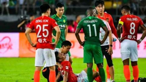 《中超第17轮/广州恒大0:0北京国安,门柱救了双方,含金量太高了。》
