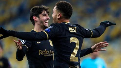 欧冠:基辅迪纳摩0-4巴塞罗那 比赛集锦!