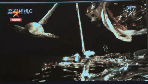 240秒看嫦娥五號落月采樣全過程