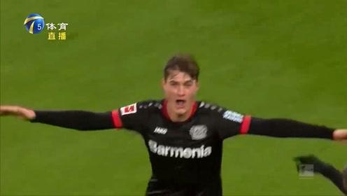 德甲联赛:逆转勒沃库森,拜仁登顶积分榜